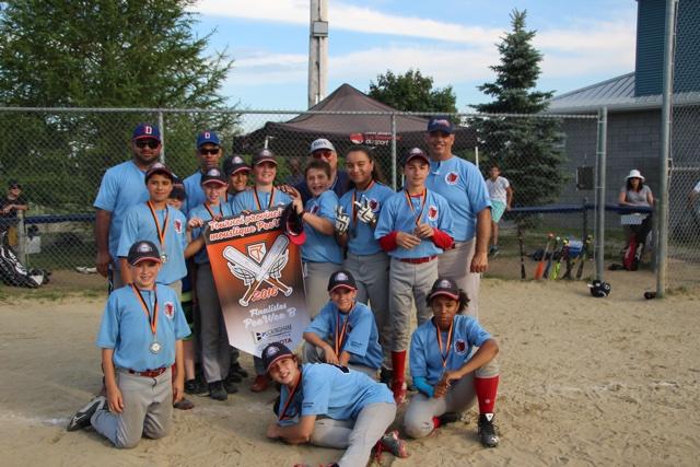 Pee Wee B Rays Silver Deux-Rives tournament